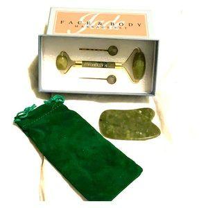BRAND NEW jade roller & gua sha set